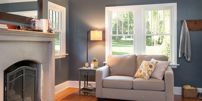 Pella Double-Hung Wood Windows
